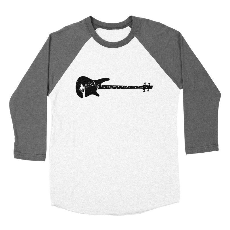 Bass guitar Women's Baseball Triblend Longsleeve T-Shirt by barmalisiRTB