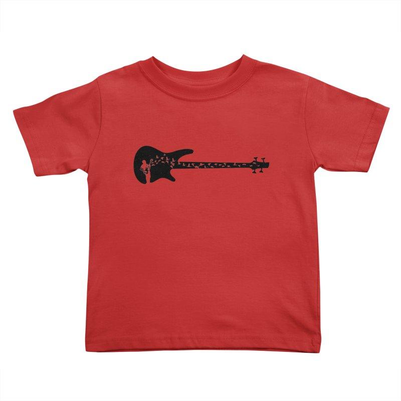 Bass guitar Kids Toddler T-Shirt by barmalisiRTB