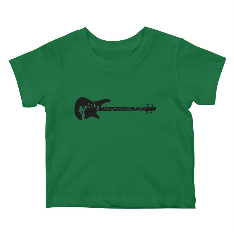 Bass guitar Kids Baby T-Shirt by barmalisiRTB