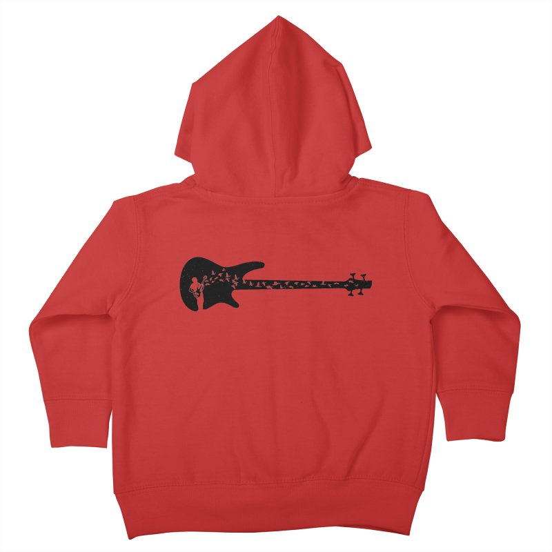 Bass guitar Kids Toddler Zip-Up Hoody by barmalisiRTB