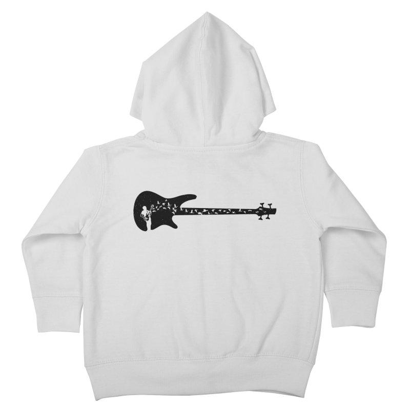 Bass guitar Kids Toddler Zip-Up Hoody by barmalisiRTB