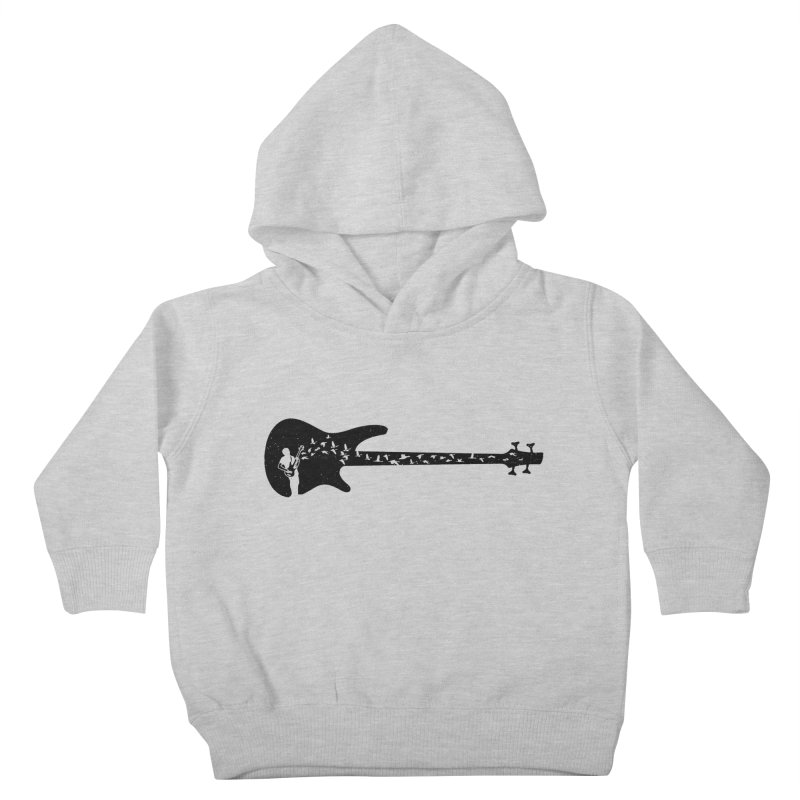 Bass guitar Kids Toddler Pullover Hoody by barmalisiRTB
