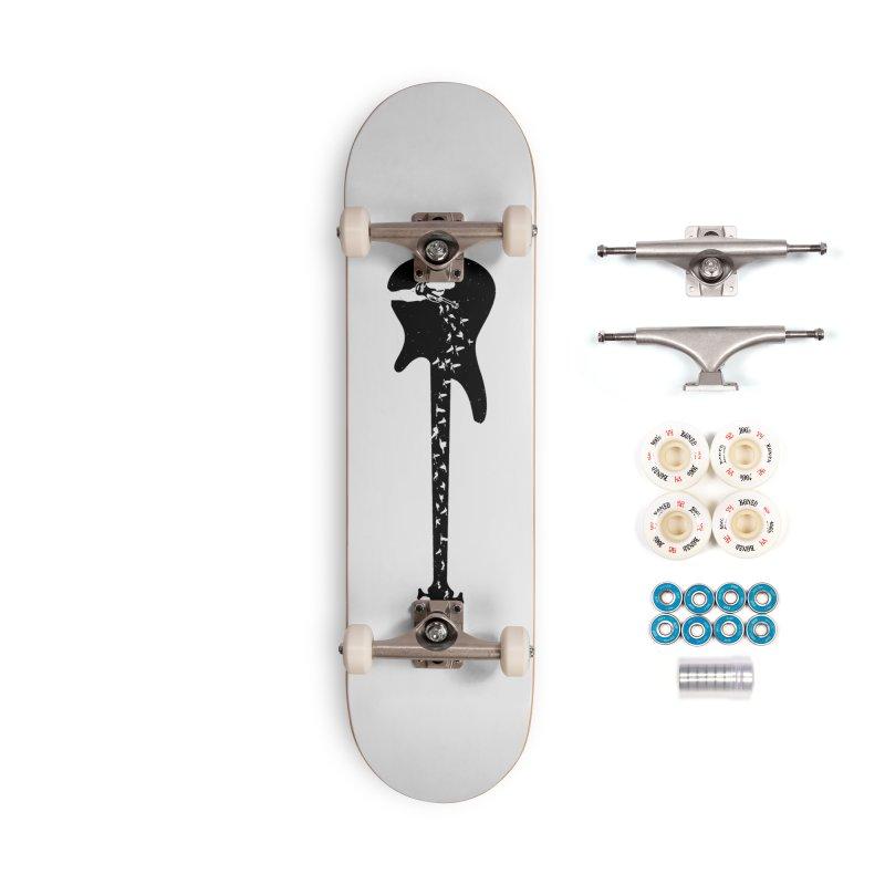 Bass guitar Accessories Skateboard by barmalisiRTB