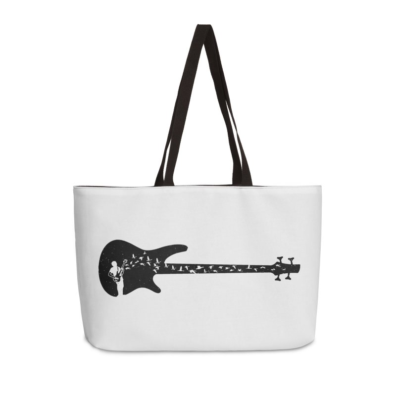 Bass guitar Accessories Weekender Bag Bag by barmalisiRTB