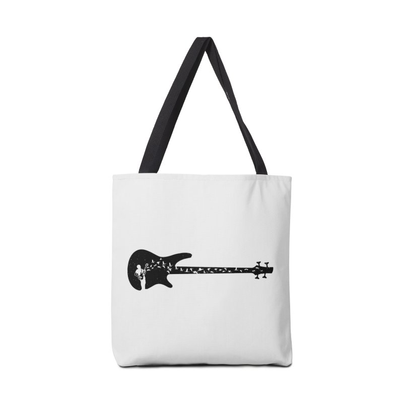 Bass guitar Accessories Tote Bag Bag by barmalisiRTB