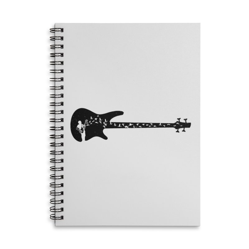 Bass guitar Accessories Notebook by barmalisiRTB