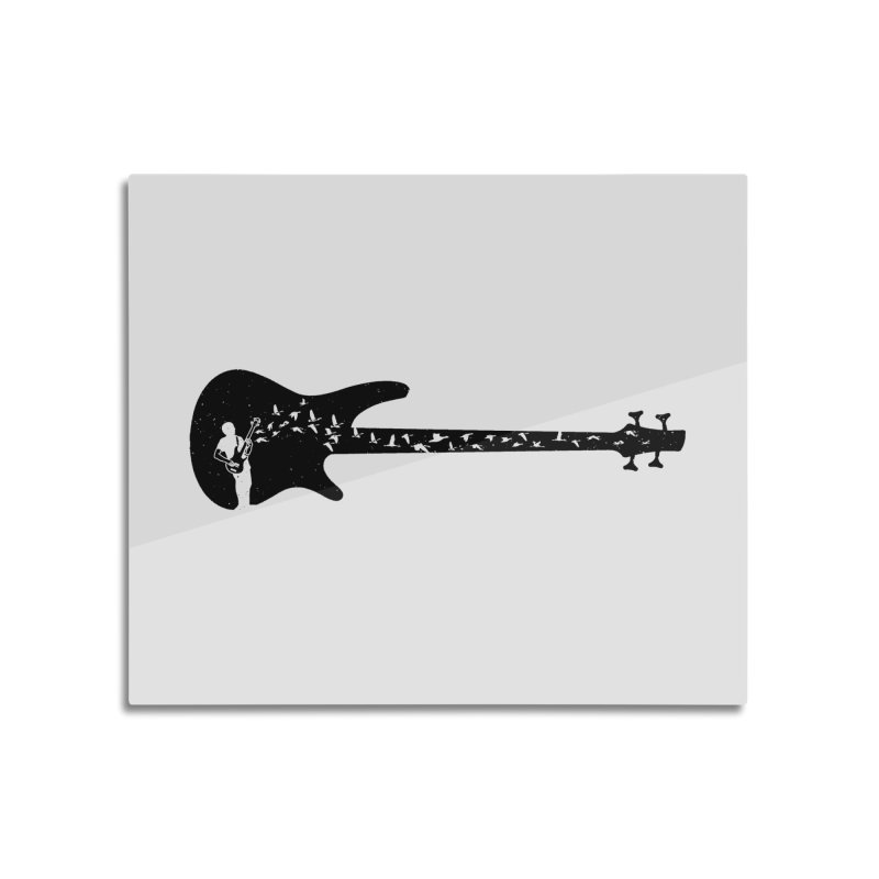 Bass guitar Home Mounted Acrylic Print by barmalisiRTB