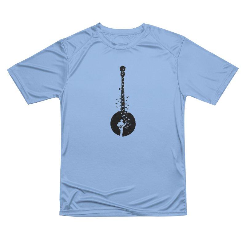 Banjo - Banjo Player Men's T-Shirt by barmalisiRTB