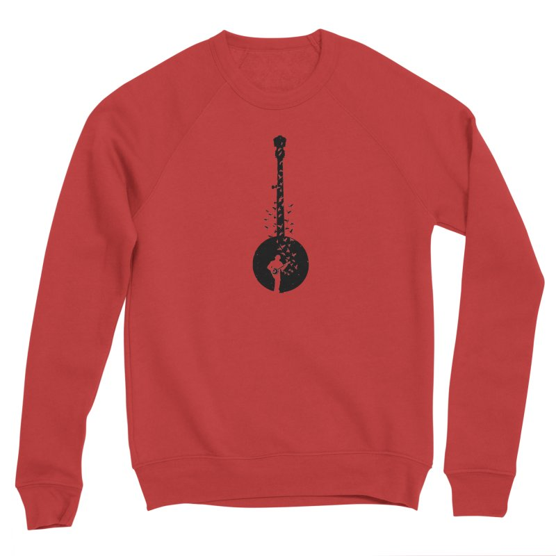 Banjo - Banjo Player Women's Sponge Fleece Sweatshirt by barmalisiRTB