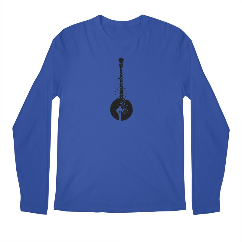 Banjo - Banjo Player Men's Regular Longsleeve T-Shirt by barmalisiRTB