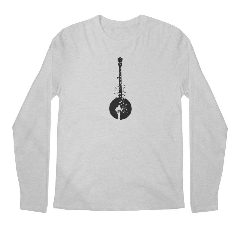 Banjo - Banjo Player Men's Regular Longsleeve T-Shirt by barmalisiRTB