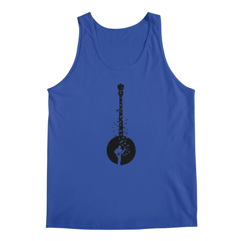 Banjo - Banjo Player Men's Regular Tank by barmalisiRTB