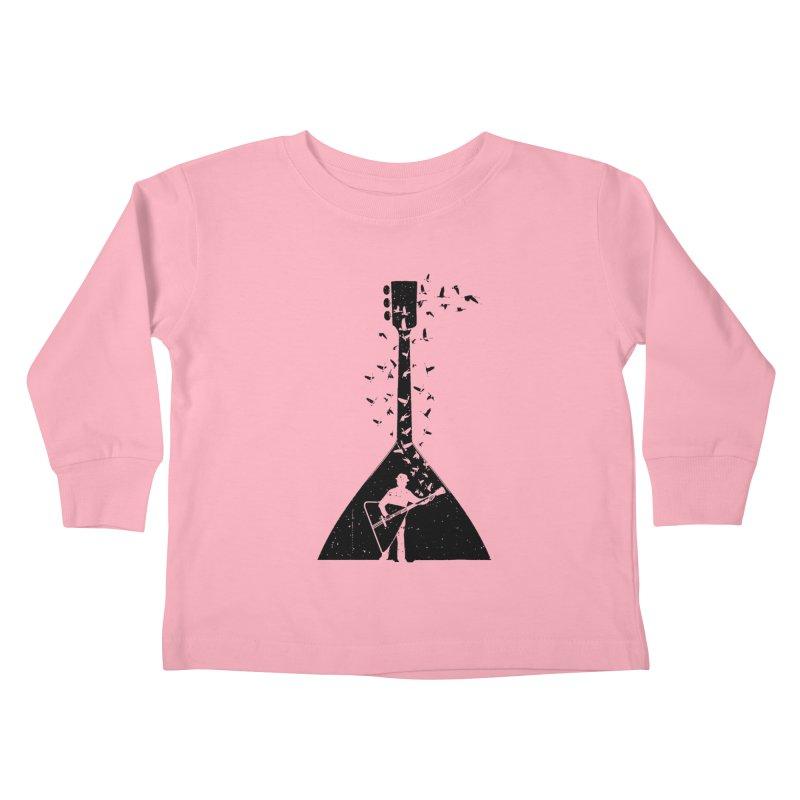 Balalaika Kids Toddler Longsleeve T-Shirt by barmalisiRTB