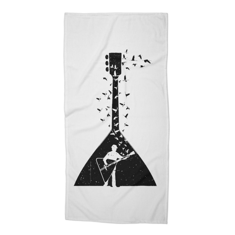 Balalaika Accessories Beach Towel by barmalisiRTB