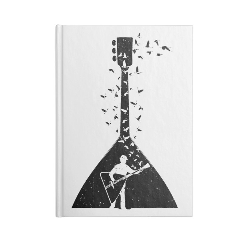 Balalaika Accessories Lined Journal Notebook by barmalisiRTB