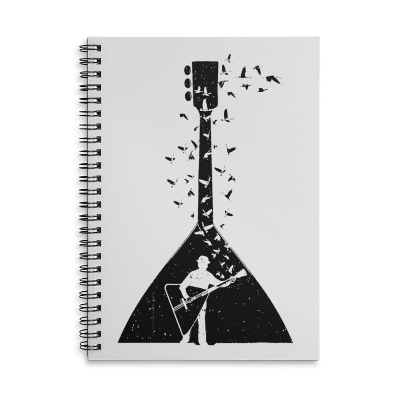 Balalaika Accessories Notebook by barmalisiRTB