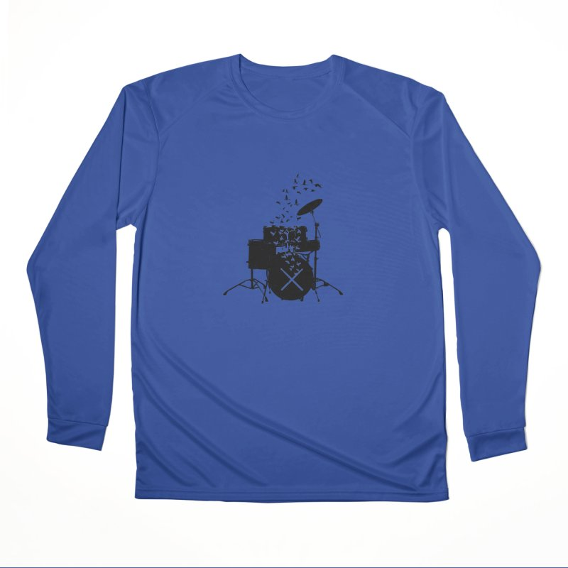 Drum - Drummers Women's Performance Unisex Longsleeve T-Shirt by barmalisiRTB