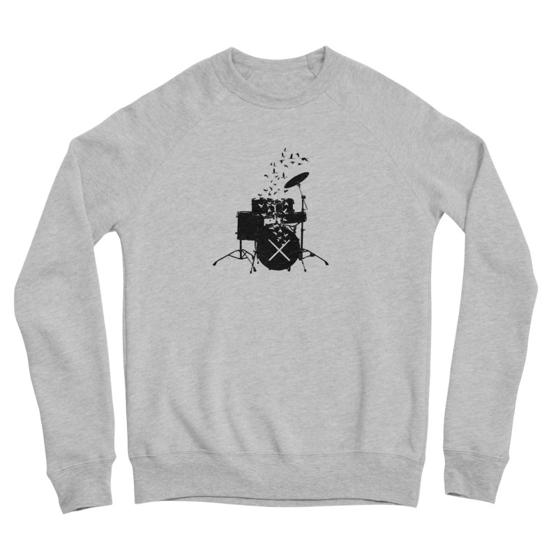 Drum - Drummers Women's Sponge Fleece Sweatshirt by barmalisiRTB
