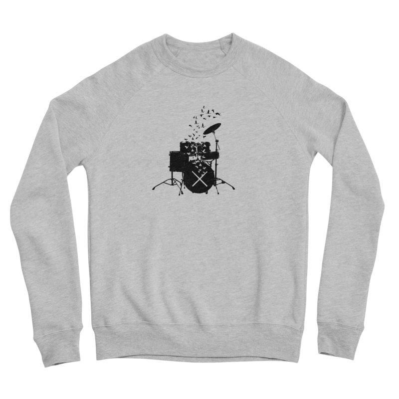 Drum - Drummers Men's Sponge Fleece Sweatshirt by barmalisiRTB