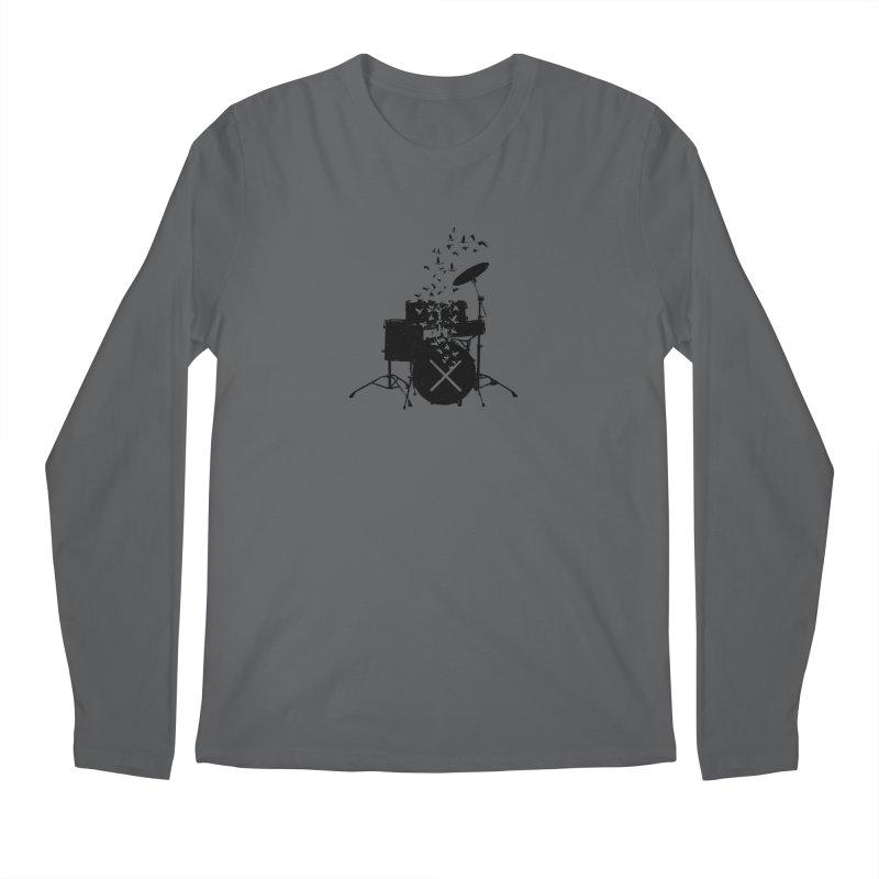 Drum - Drummers Men's Regular Longsleeve T-Shirt by barmalisiRTB