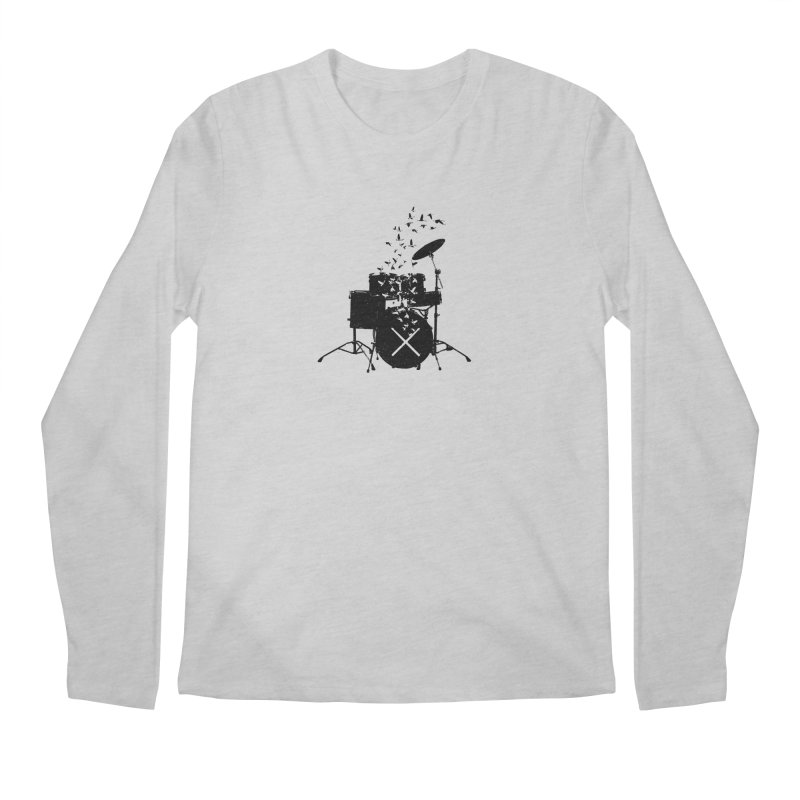 Drum - Drummers Men's Regular Longsleeve T-Shirt by barmalisiRTB