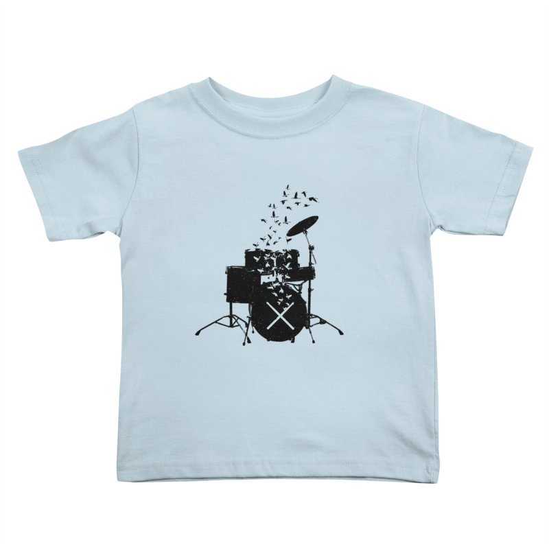 Drum - Drummers Kids Toddler T-Shirt by barmalisiRTB