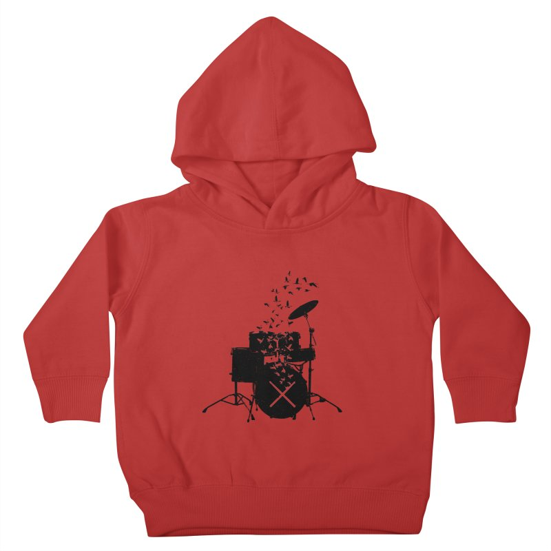 Drum - Drummers Kids Toddler Pullover Hoody by barmalisiRTB