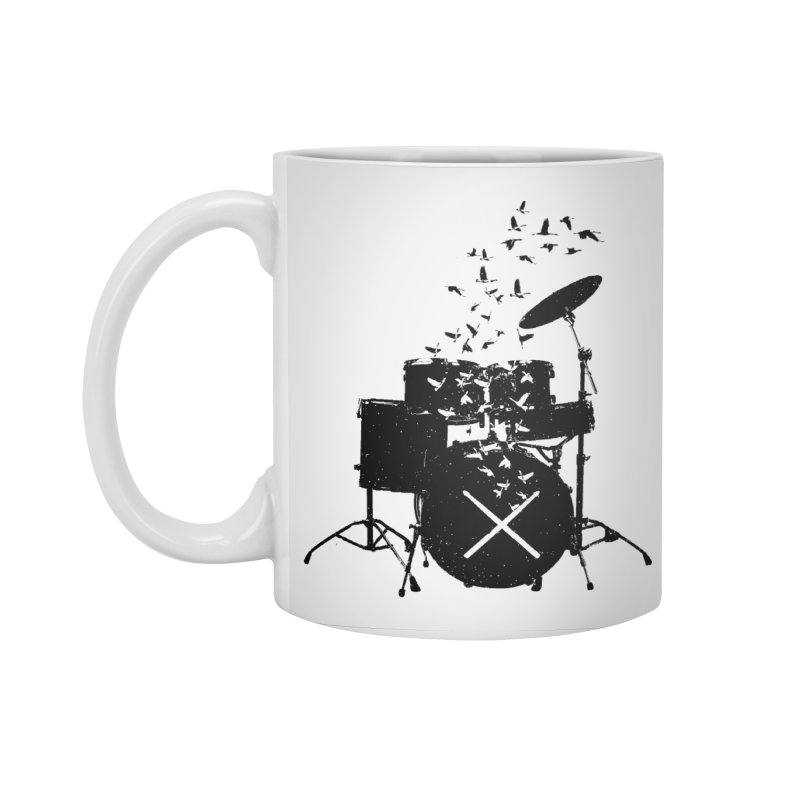 Drum - Drummers Accessories Standard Mug by barmalisiRTB