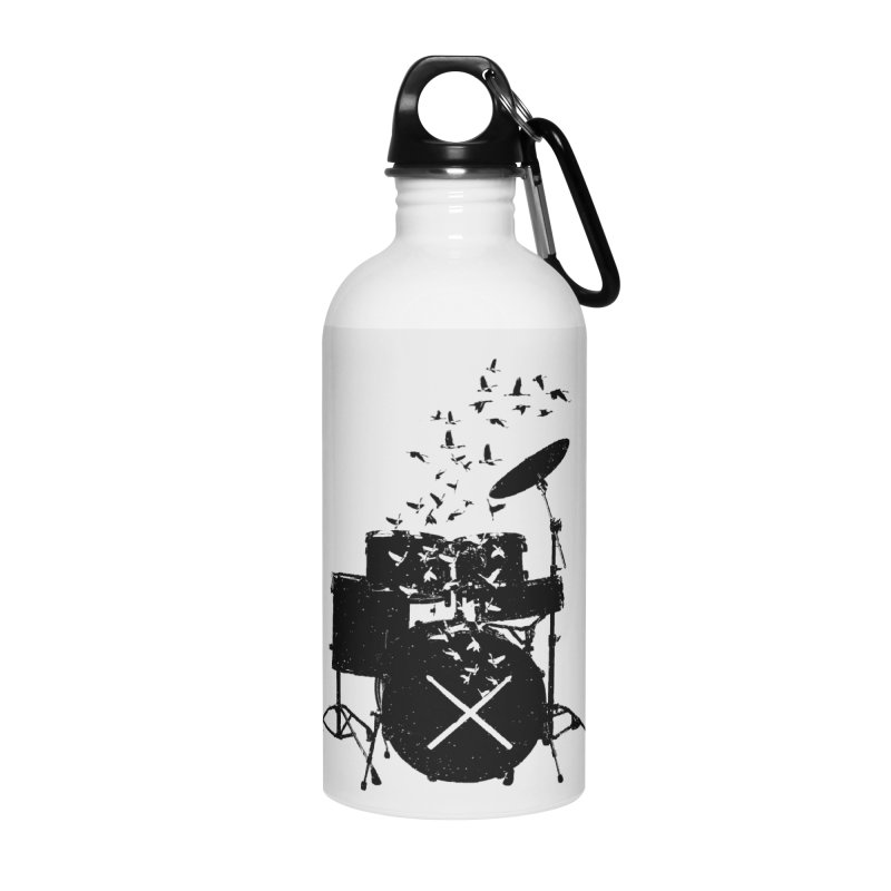 Drum - Drummers Accessories Water Bottle by barmalisiRTB
