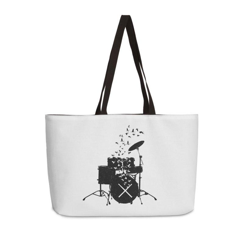 Drum - Drummers Accessories Weekender Bag Bag by barmalisiRTB