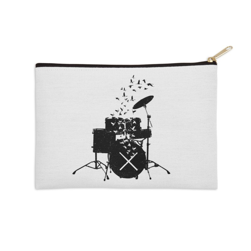 Drum - Drummers Accessories Zip Pouch by barmalisiRTB