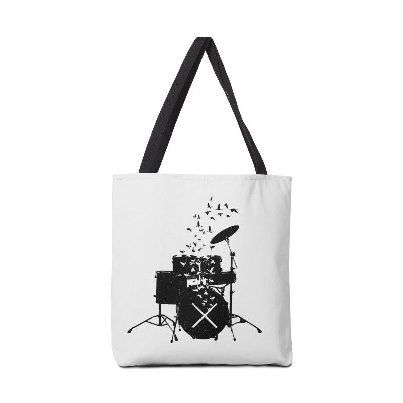 Drum - Drummers Accessories Tote Bag Bag by barmalisiRTB