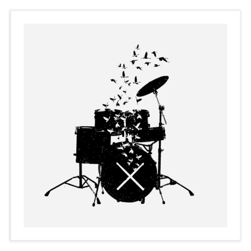 Drum - Drummers Home Fine Art Print by barmalisiRTB