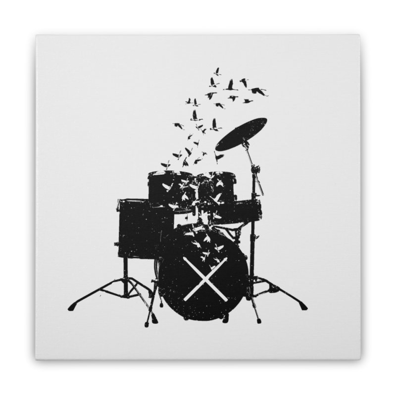 Drum - Drummers Home Stretched Canvas by barmalisiRTB