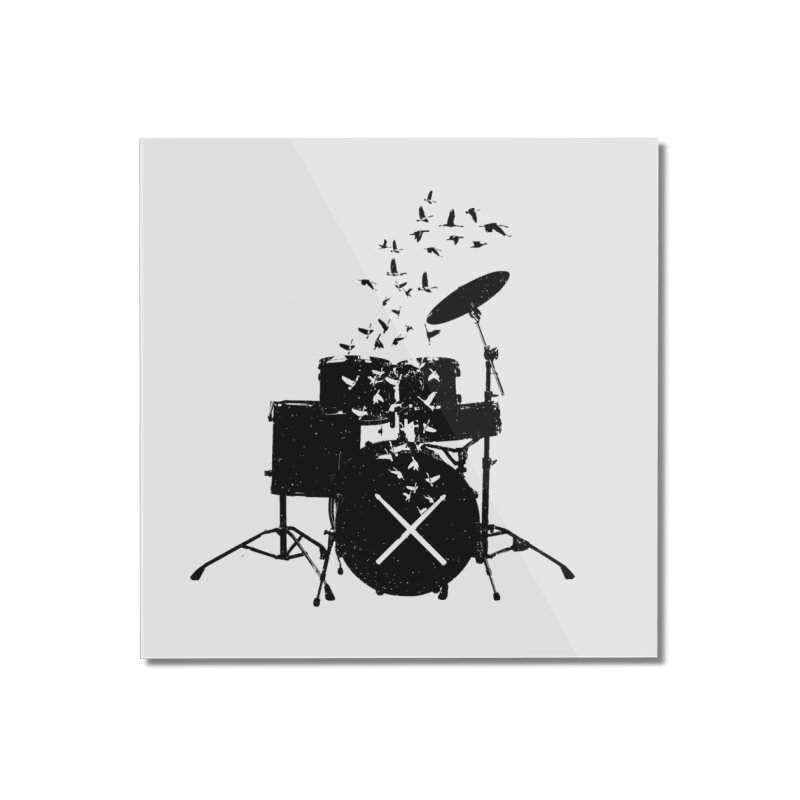 Drum - Drummers Home Mounted Acrylic Print by barmalisiRTB