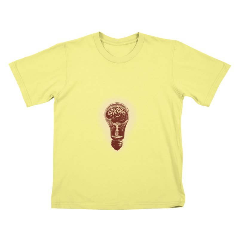 brain stun Kids T-shirt by barmalisiRTB