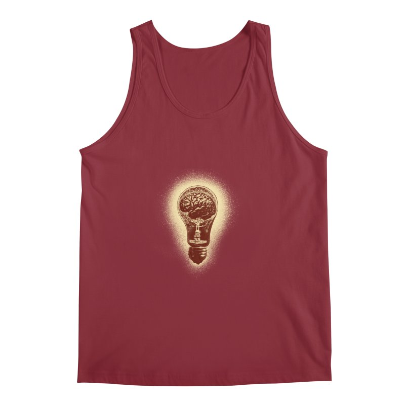 brain stun Men's Tank by barmalisiRTB