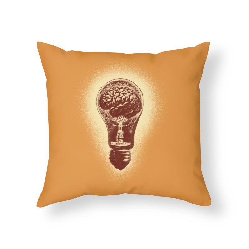 brain stun Home Throw Pillow by barmalisiRTB