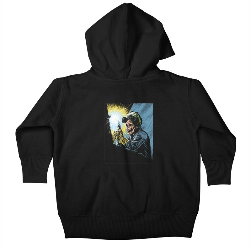 The eternal struggle Kids Baby Zip-Up Hoody by barmalisiRTB