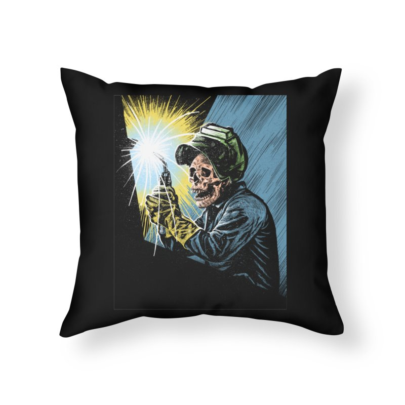 The eternal struggle Home Throw Pillow by barmalisiRTB