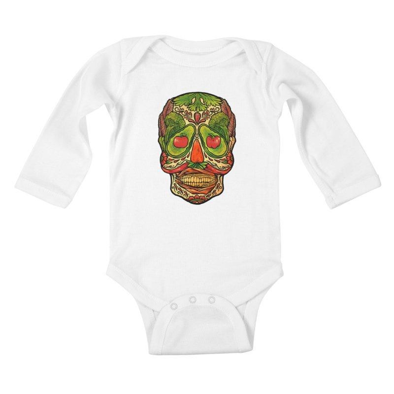 Nutritious delicious Kids Baby Longsleeve Bodysuit by barmalisiRTB