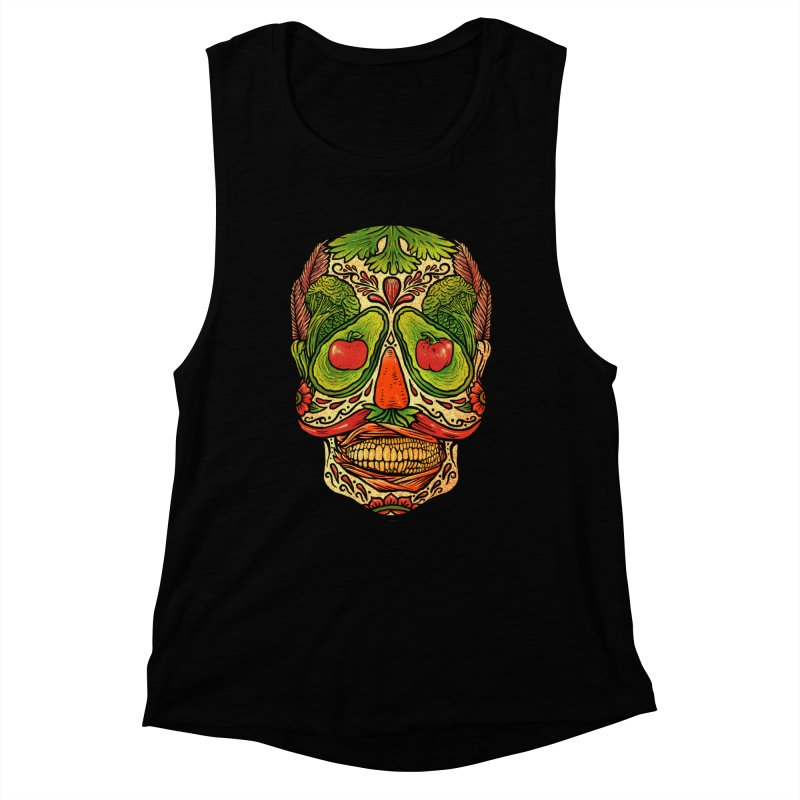 Nutritious delicious Women's Muscle Tank by barmalisiRTB