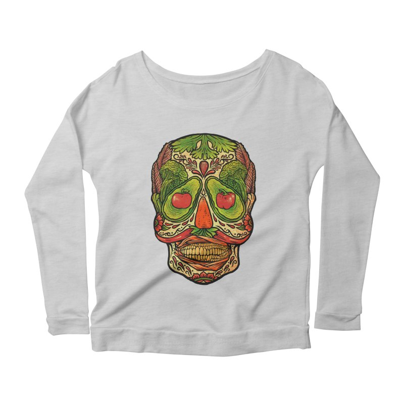 Nutritious delicious Women's Scoop Neck Longsleeve T-Shirt by barmalisiRTB