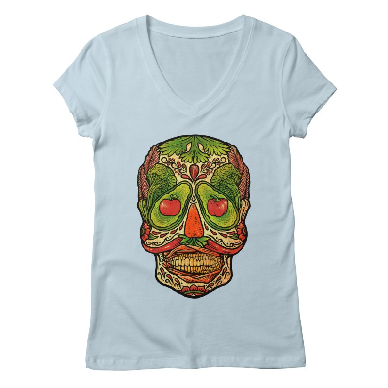 Nutritious delicious Women's Regular V-Neck by barmalisiRTB