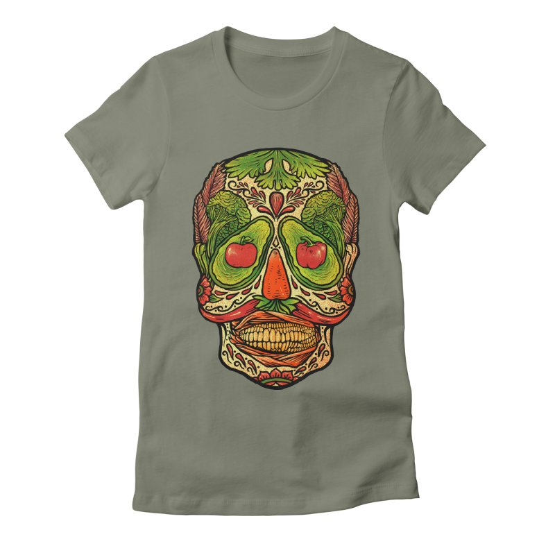 Nutritious delicious Women's Fitted T-Shirt by barmalisiRTB
