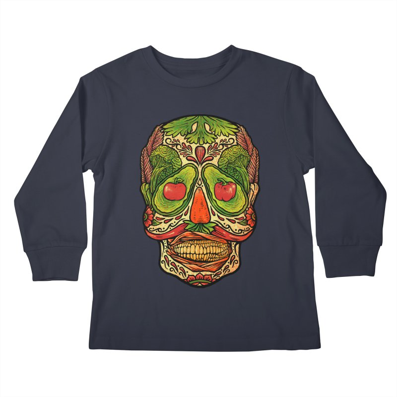 Nutritious delicious Kids Longsleeve T-Shirt by barmalisiRTB