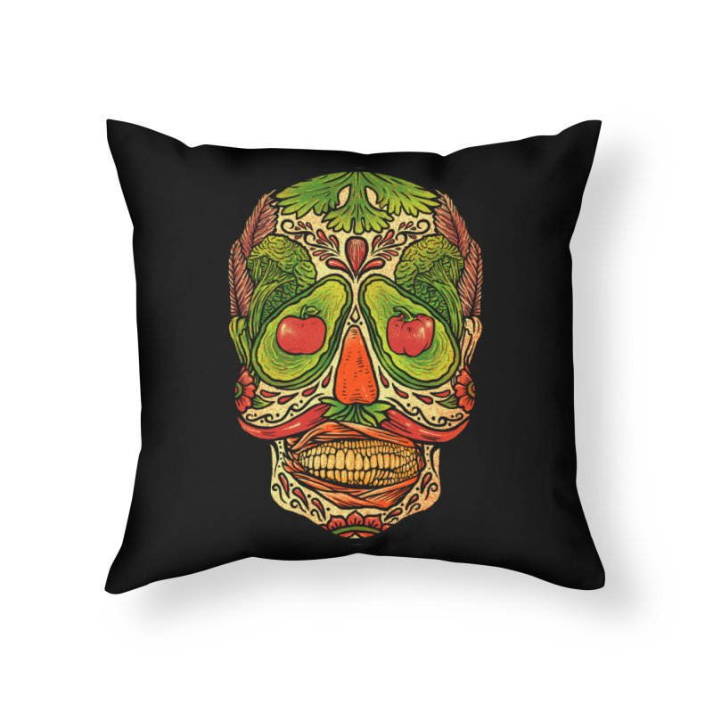 Nutritious delicious Home Throw Pillow by barmalisiRTB