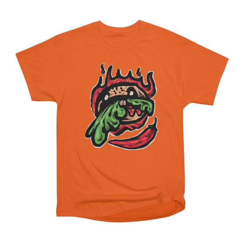 Hot Spicy Burger Men's Heavyweight T-Shirt by barmalisiRTB