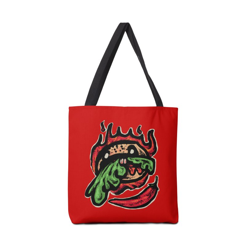 Hot Spicy Burger Accessories Tote Bag Bag by barmalisiRTB