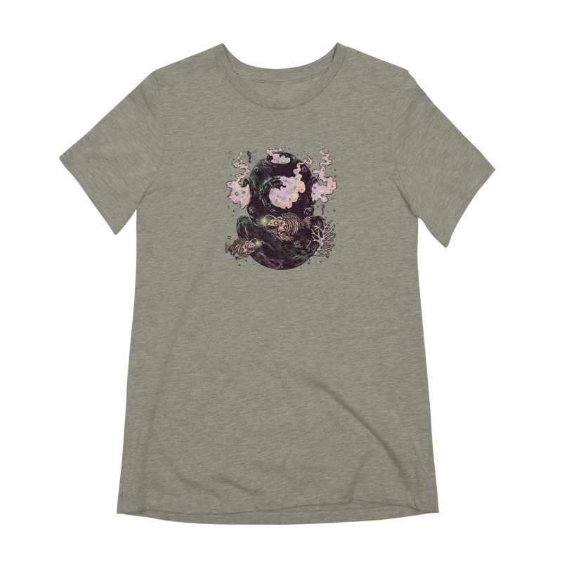 Dive or Die Women's Extra Soft T-Shirt by barmalisiRTB